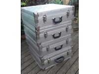 Extra Large Aluminium Alloy Camera Cases. Four Available.
