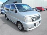 Nissan Elgrand all mode 4X4 AUTOMATIC 3.5 8 seats