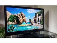 "40"" Full HD TV Tehnika and Xbox 360 with hard drive + 2 games.(can deliver)"