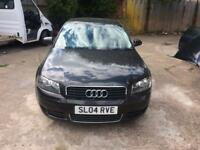 2004 Audi A3 2.0 tdi automatic 120k starts drives perfect slightly damaged .not spares or repair .