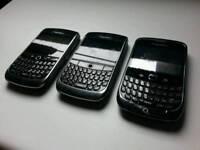 3 X BlackBerry - 9300 / 8900 smartphone
