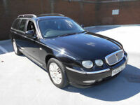 (02) 2002 Rover 75 Tourer 2.0 CDT TURBO DIESEL ESTATE AUTOMATIC F/S/HISTORY