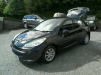 07 Peugeot 207 S 5 door Only 38000 Mls Moted 21/03/18 low ins ( can be viewed inside anytime)