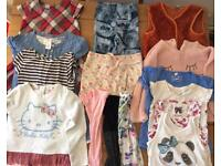 Bundle of clothes, size 4-5 years