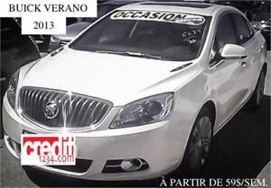 2013 Buick Verano En cuir, À PARTIR DE 59$/SEMAINE 100% APPROUVÉ