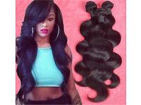 CHEAPEST HAIR CLEARANCE!! - 100% HUMAN VIRGIN REMY HAIR BRAZILIAN PERUVIAN MALAYSIAN CAMBODIAN