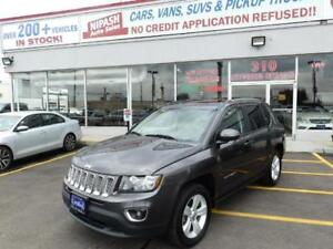 2016 Jeep Compass 4X4 LEATHER SUNROOF,HEATED SEATS NO ACCIDENTS