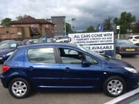 Peugeot 307 sale/finance Forth carz
