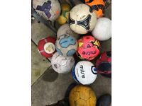 Leather Quality Footballs Adidas, Nike, MITRE