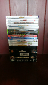 Wii & Xbox games & movies
