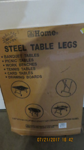 Folding Steel Table legs for Utility Table