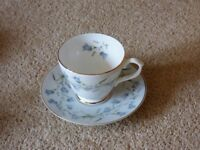 Set of 6 China Cup and Saucer plus 6 side Plates. Newcastle Upon Tyne China in excellent condition