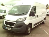 Peugeot Boxer 2.2 Hdi H2 Van 130Ps DIESEL MANUAL WHITE (2014)