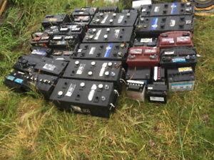 Used battery's