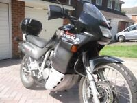 Black & Grey Honda XL600 Transalp