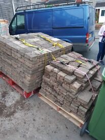 12 sqm used block pavers driveset tegular 60mm