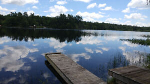 2 Acre Waterfront lot on Beautiful Calpin Lake!!!!