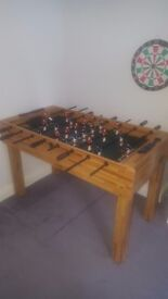Good condition and sturdy table
