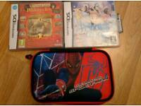 Nintendo DS games and Spiderman case