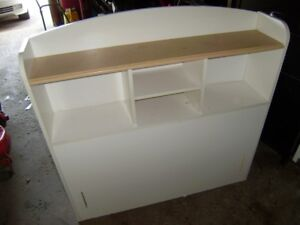 2 pce twin bed set - bed and dresser