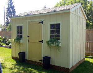 SHEDS NIAGARA   -    Top Quality Wood Sheds