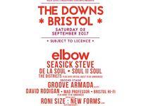 Bristol downs tickets 2x adult