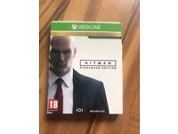 hitman - the complete first season , xbox one , as new ! price stands !