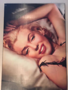 Marilyn Monroe, James Dean and Betty Boop  laminated posters