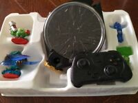 Skylanders trap team tablet pack with portal. Wireless game controller, additional figures & traps.