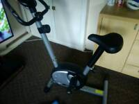 pro Fitness exercise bike with weight's £30