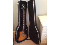 Les Paul Gibson Epiphone Electric Guitar & Gator Case