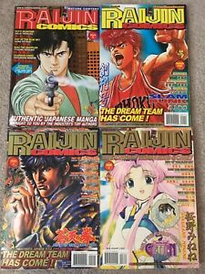 RAIJIN Comics Issues 0-3