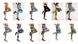 Wholesale High Waist Women Leggings Stretchy Pants / Tights