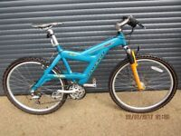 """RALEIGH MAX LIGHTWEIGHT FRONT SUSPENSION BIKE IN EXCELLENT LITTLE USED CONDITION.. 19"""" / 48cm FRAME."""