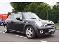 2007 MINI Hatch 1.6 Cooper 3dr MANUAL, LOW MILES, BLACK, WARRANTY, NEW SHAPE, PX WELCOME