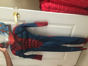 Spider-Man Costume size small 4-5