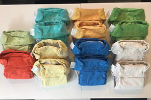 BumGenius Freetime AIO one size cloth diapers with snap closures