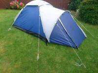 Proaction two person tent with wind breaker