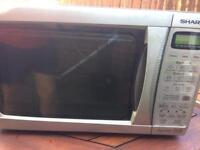 Microwave sharp silver