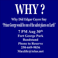 Edgar Cayce Meeting Fort George Park Bandstand