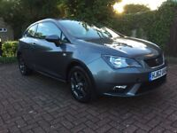 SEAT IBIZA 2013 1.4L METALIC GREY/VW POLO-12 MONTHS MOT-FULL SERVICE HISTORY-VERY LOW MILLAGE