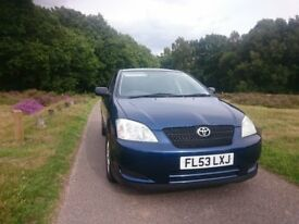 Toyota Corolla D-4D 2ltr Turbo Diesel 5dr FSH 1 owner Regularly Serviced 1yr MOT A/C EW PAS Alloys