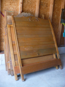 Antique headboards and footboards