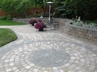 Paving stones, Synthetic grass, Lawn Replacement