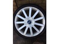 Fiesta st wheel