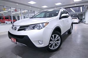 2013 Toyota RAV4  LIMITED ONE OWNER, CLEAN CARPROOF, NON SMOKER,