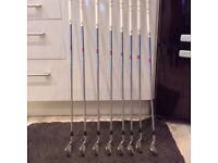 Ben Hogan Apex F.T.X Golf Clubs Apex 3 Shafts. vgc condition £85 ono