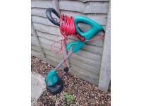 BOSCH STRIMMER AS NEW NOT USED
