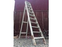 3m solid wood painters step ladder