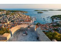 Two Flights to the lovely Croatia!